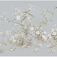 York Wallcoverings Silver Leaf II PM9319M